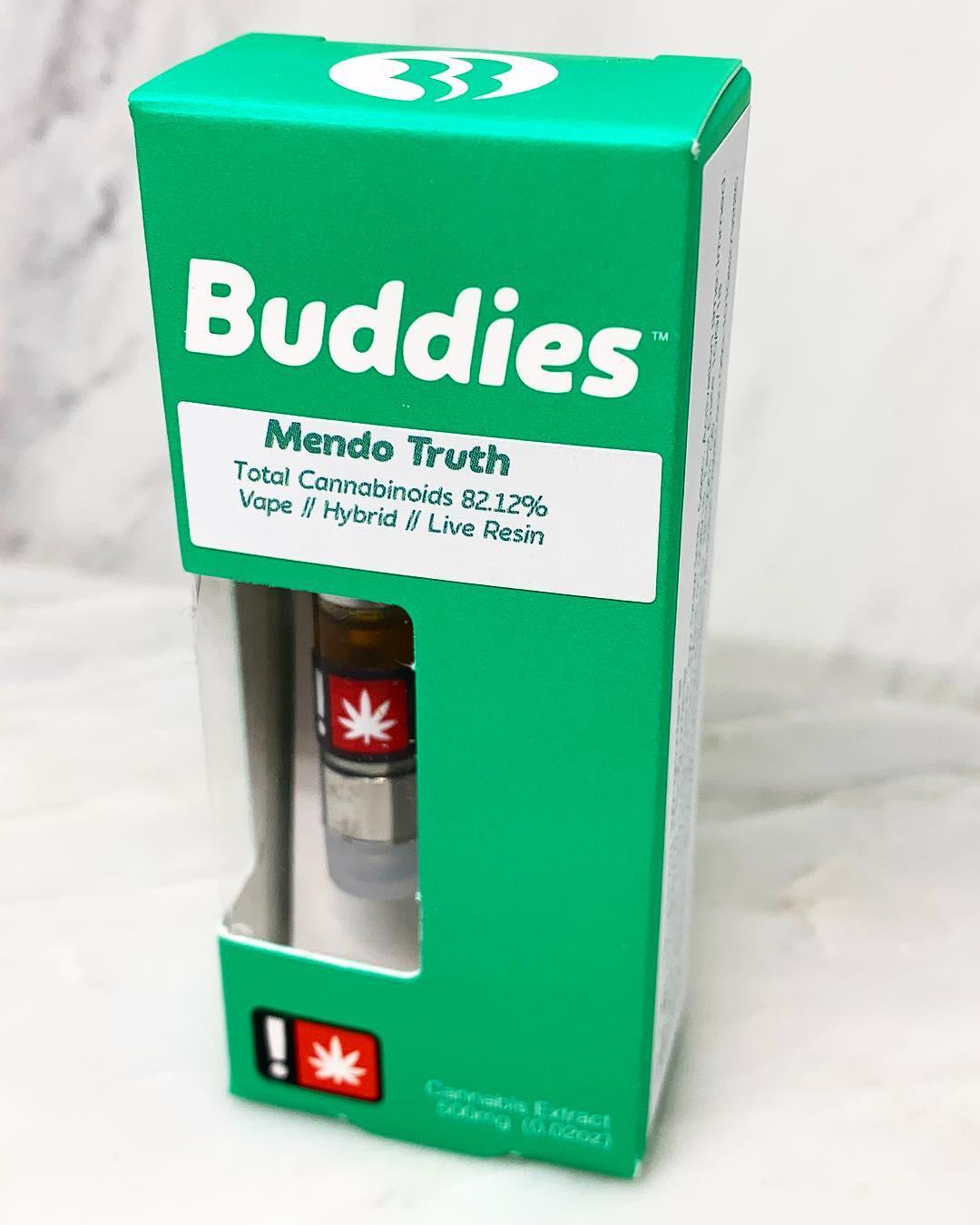 Buddies Live Resin Cartridges  5 gram — Portland